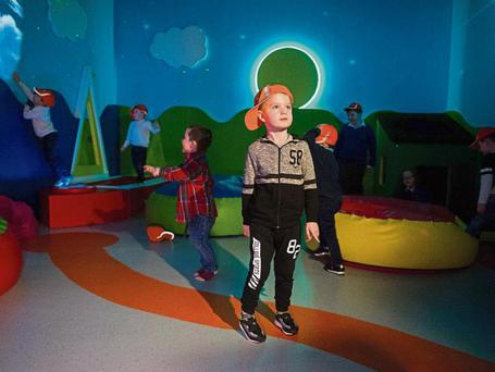 The new sensory room which was unveiled today Picture: Diarmuid Greene/True Media