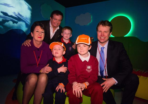 Marty Morrissey, Shannon Group Chairperson Rose Hynes and Shannon Group CEO Matthew Thomas