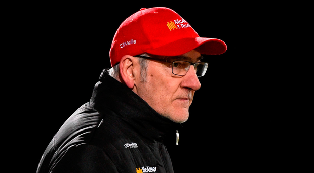 Mickey Harte led Tyrone straight back to Division 1 in 2016. Picture credit: Paul Mohan / Sportsfile