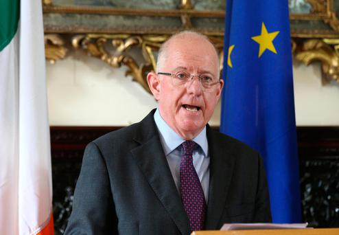 Foreign Affairs Minister Charlie Flanagan Picture: Damien Eagers