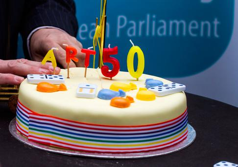 The moving of Article 50 is just the end of the beginning. Photo: REUTERS