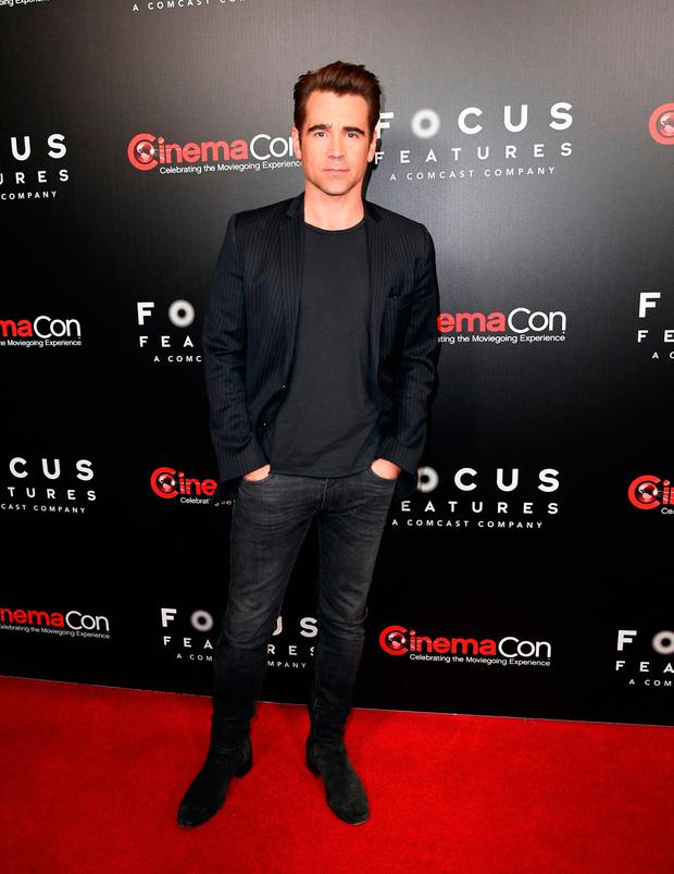 Actor Colin Farrell. / AFP PHOTO / ANGELA WEISSANGELA WEISS/AFP/Getty Images