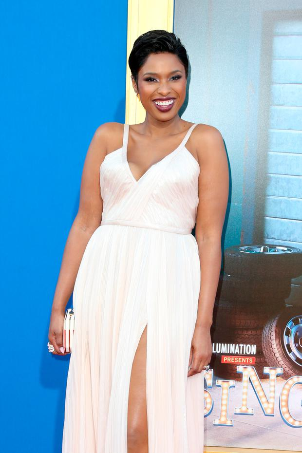 Actress/singer Jennifer Hudson attends the premiere Of Universal Pictures'