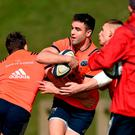 Conor Murray in trainig this week