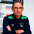 Martin O'Neill 'utterly rejects' any allegation that he ignored his medical department. Photo: David Maher/Sportsfile