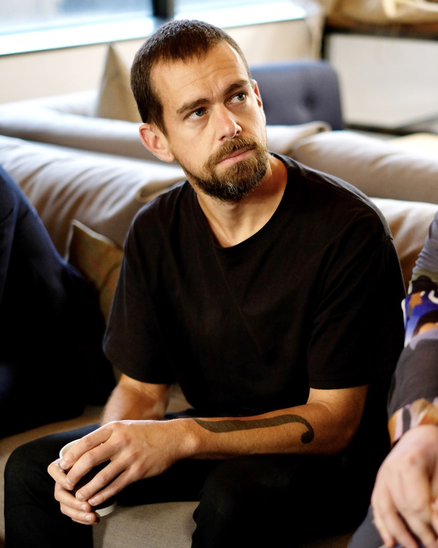 Jack Dorsey, founder and CEO of Twitter, in Dublin on Thursday. Photo: Adrian Weckler