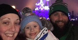 Ellie Bolger's wish to go to Disneyland Paris was granted by the Make A Wish Foundation.