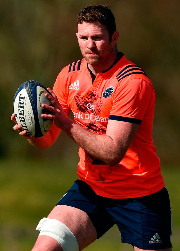 Munster's Donnacha Ryan is the leading second row in Irish rugby. Photo: Diarmuid Greene/Sportsfile