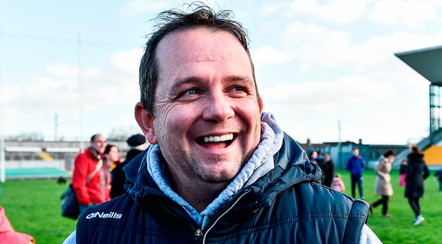 There has been plenty to smile about in Wexford hurling since the arrival of Davy Fitzgerald and they will be hoping to maintain their revival against Kilkenny tomorrow. Photo: David Maher/Sportsfile