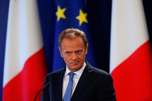 President of the European Council Donald Tusk. Photo: Reuters