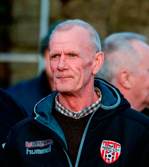 Lexie McBride, father of the late Ryan McBride in attendance. Photo: Sportsfile