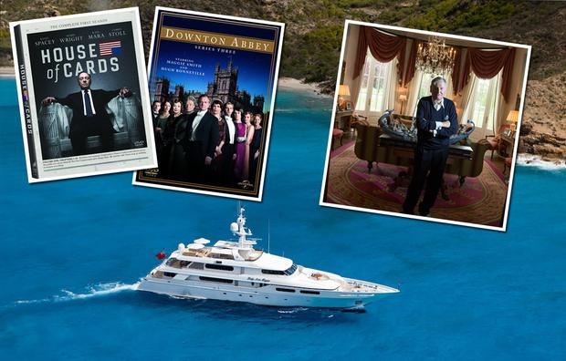 Sailing and box sets: Michael Smurfit's yacht, the Lady Ann Magee