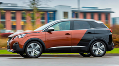 Striking: The Peugeot 3008 balances practicality and elegance with raw edge Photo: Daniel Pullen