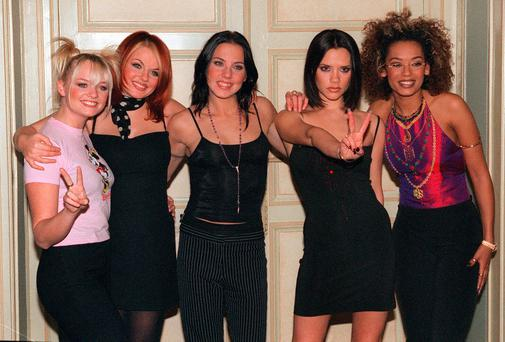 Old spice: Twenty years on, we still miss Baby, Ginger, Sporty, Posh and Scary - who were perfect examples that women don't have to be compliant. The band also remains the best-selling and highest-earning female group ever Photo: THOMAS COEX/AFP/Getty Images