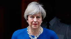 British Prime Minister Theresa May Photo: AP