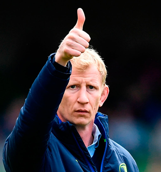 Leo Cullen was impressed by Blues' composure. Photo: Sportsfile
