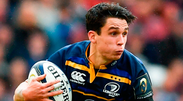 Joey Carbery works his magic during yesterday's Champions Cup quarter-final clash. Photo: Sportsfile