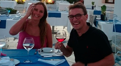 Tragedy: The bodies of holidaying married couple Alexandra and Frank Dunne were recovered near the marina at Carrick-on-Shannon, Co Leitrim