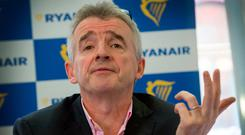 Ryanair CEO Michael O'Leary. Photo: Colin O'Riordan