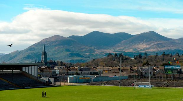 A general view of the stadium and pitch ahead of the Allianz Football League Division 1 Round 7 match between Kerry and Tyrone at Fitzgerald Stadium in Killarney, Co Kerry. Photo by Cody Glenn/Sportsfile
