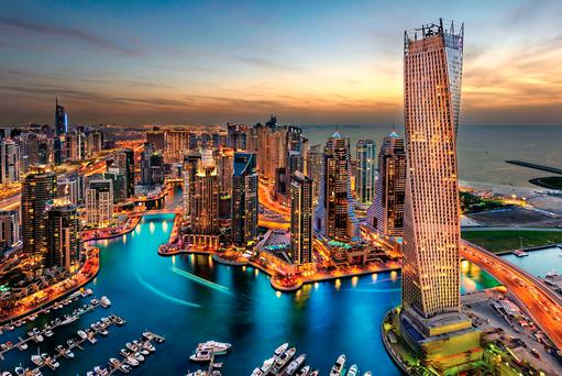 Dubai, a mass of contradictions, with a wannabe Manhattan skyline, and everything you need to switch off from normal life