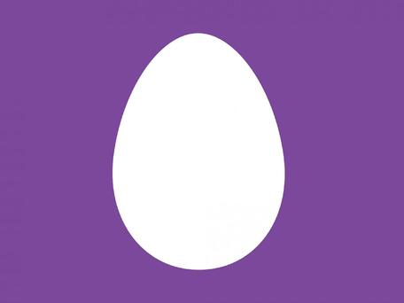 The Twitter egg was hatched in 2010 Credit: Twitter