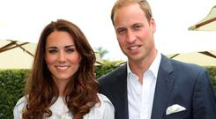 Kate and William. Photo: Chris Weeks/PA Wire