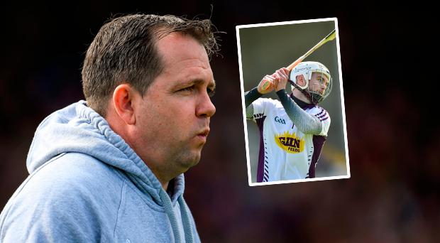 Davy Fitz and (inset) Mark Fanning