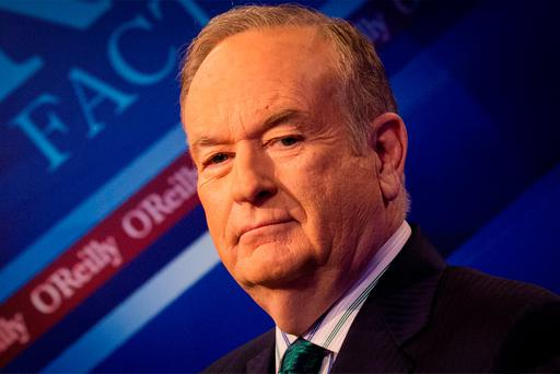 Defensive: Bill O'Reilly. Photo: Reuters