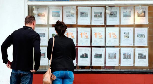 House prices soared 9pc in a year on the back of new buyers clamouring to get hold of property in limited supply.