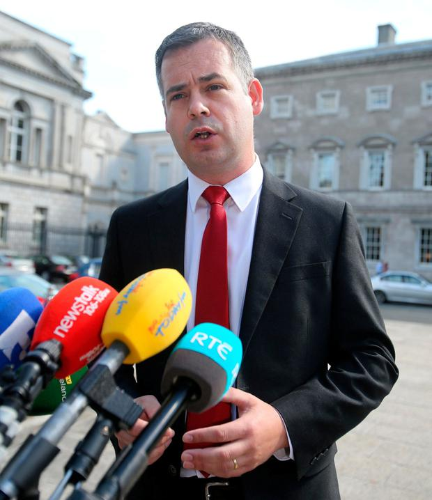 Pearse Doherty says the scheme needs to be stopped. Photo: Tom Burke