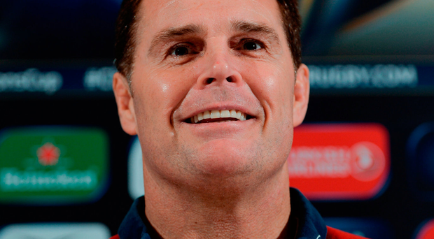 Munster director of rugby Rassie Erasmus Photo: Seb Daly/Sportsfile