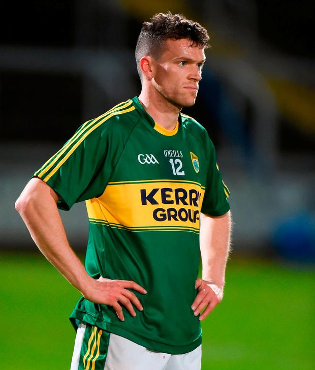 Kerry's Colum Harty after the final whistle. Photo: Matt Browne/Sportsfile