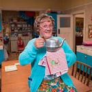 Brendan O'Carroll in 'All Round to Mrs Brown's'. Photo: Graeme Hunter