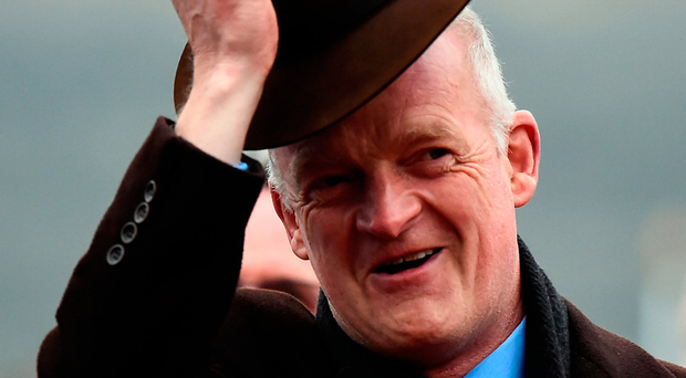 Willie Mullins: More reasons to celebrate after Fairyhouse Grade Two treble Photo: Seb Daly/Sportsfile