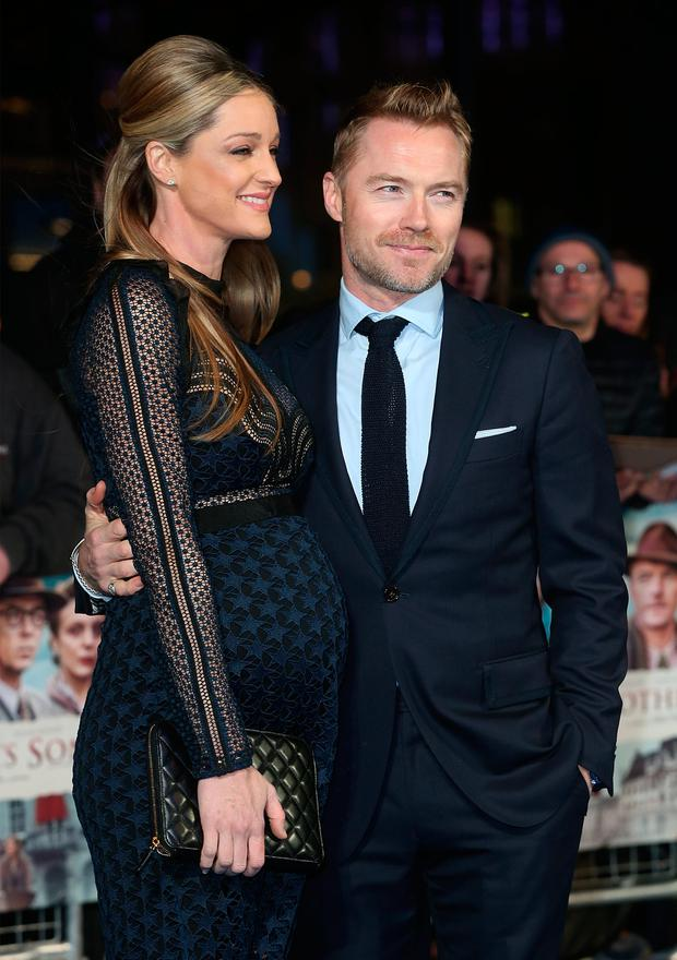 Ronan Keating and Storm Keating attends the World Premiere of