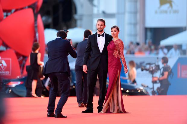 Alexander Smurfit and Victoria Bonya attend the '99 Homes' - Premiere during the 71st Venice Film Festival on August 29, 2014 in Venice, Italy. (Photo by Gareth Cattermole/Getty Images)