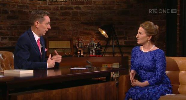 Lorna Byrne on the Late Late Show