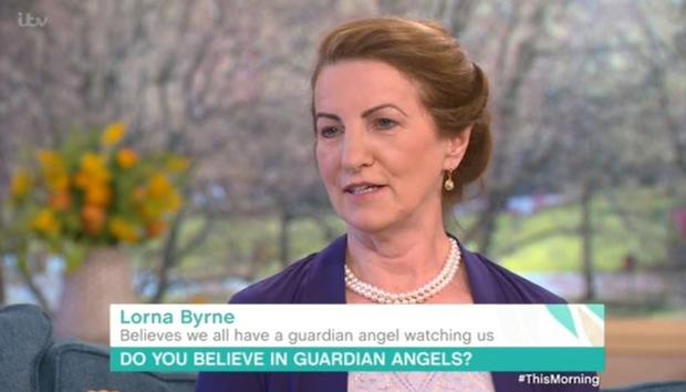 Lorna Byrne on ITV's This Morning
