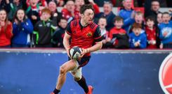 Munster's Darren Sweetnam. Photo: Eóin Noonan/Sportsfile