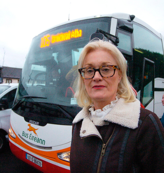 Foster parent and Meath county councillor Sharon Keogan. Photo: Seamus Farrelly