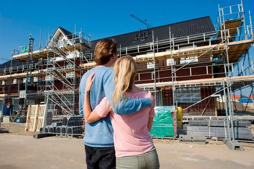 Couples hoping to make it on to the property ladder have seen prices surge. Stock photo