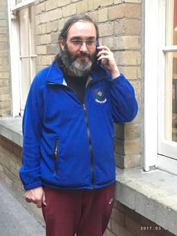 Colin, who told his story on Ireland's Property Crisis (Image via RTE)