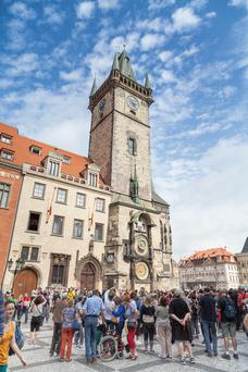 Tourists in Prague – the Czech Republic now has the lowest unemployment rate in the EU