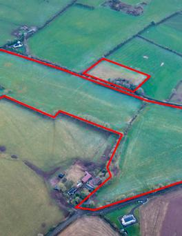 The 133.5ac grazing and tillage farm at Killeigh sold for €1.44m, almost €10,800/ac