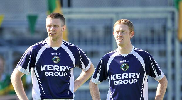 Tomás Ó Sé (left) and Colm Cooper (right).