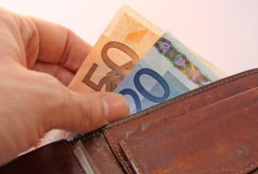 For those in their 40s with a tracker, monthly repayments would jump by €120 to almost €900 (Stock photo)