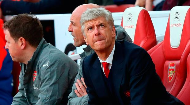 Wenger confirmed he was yet to decide who would captain his team against West Ham tonight. Photo: Getty Images