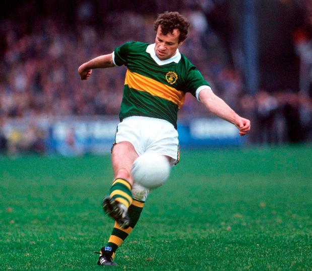 Mikey Sheehy played in more lawless times than Colm Cooper did, when the 'hard man' didn't have to worry as much about the rules or TV close-ups. Photo: Ray McManus / Sportsfile