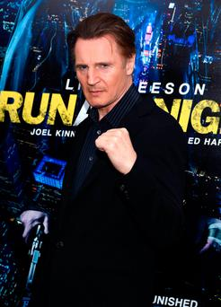 Hollywood actor Liam Neeson had supported a bid to cut corporation tax in the North. Photo: Getty Images